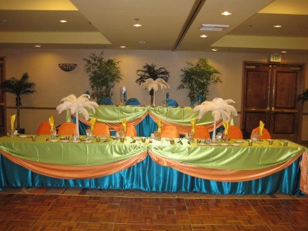 Quinceanera Head Table