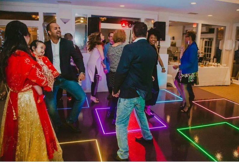 LED dance floor great for any occasion