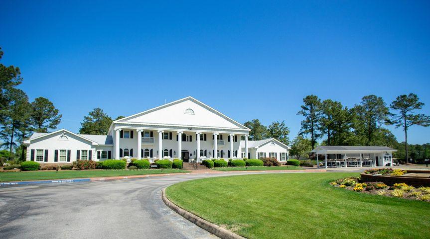 Country club exterior