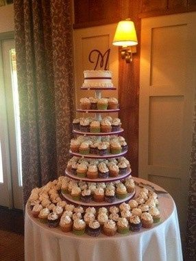 awesome cupcake tower