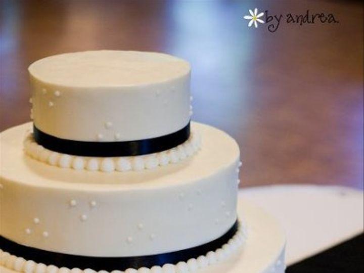 Tmx 1278037643385 BlkWhtWedding3 Pelham wedding cake