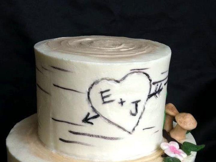 Tmx 1345552356791 Birchweddingcake Pelham wedding cake