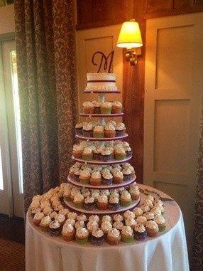 Tmx 1450794186263 Awesome Cupcake Tower Pelham wedding cake