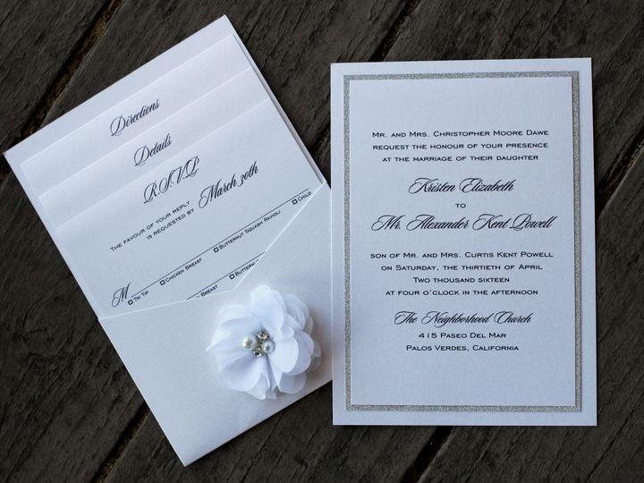 Tmx 1482961454492 Pocket Card Portrait Kristen  Alex Tustin, California wedding invitation
