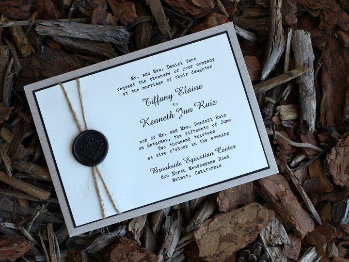 Tmx 1482961593135 Pocket Card Landscape Tiffany  Kenneth Tustin, California wedding invitation