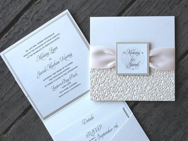 Tmx 1482962473704 Booklet   Melany  Jared Tustin, California wedding invitation
