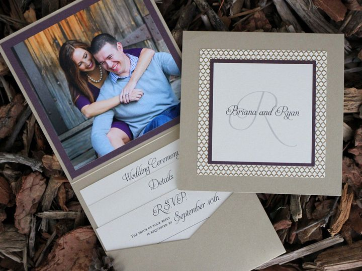 Tmx 1482962619684 Booklet Briana  Ryan Tustin, California wedding invitation