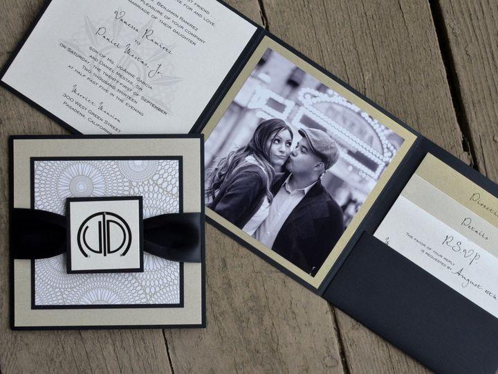 Tmx 1482963136137 Photo Fold Vanessa  Daniel Tustin, California wedding invitation