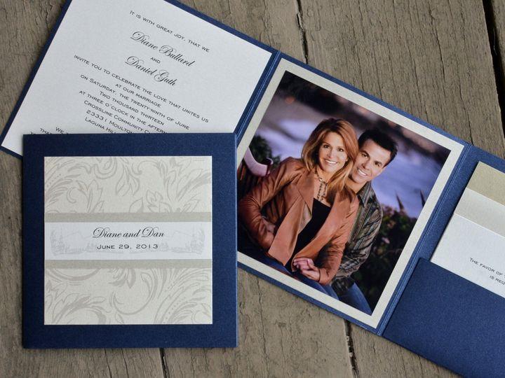 Tmx 1482963251000 Photo Fold Diane  Dan Tustin, California wedding invitation