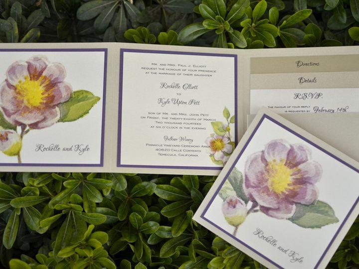 Tmx 1482963595467 Z Fold Rochelle  Kyle Tustin, California wedding invitation