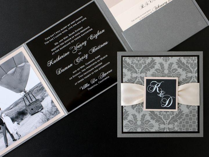 Tmx 1482964366455 Metal Katherine  Damon Tustin, California wedding invitation