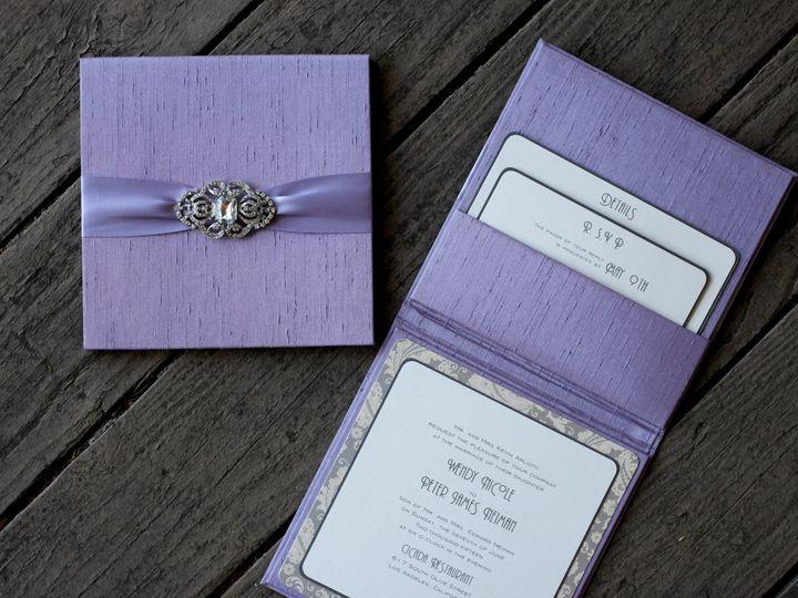 Tmx 1482965076421 Bella Luxe Trend Folio Wendy  Peter Tustin, California wedding invitation