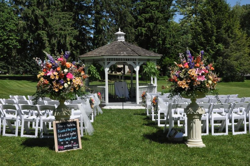 Outdoor Ceremony at the Gazebo