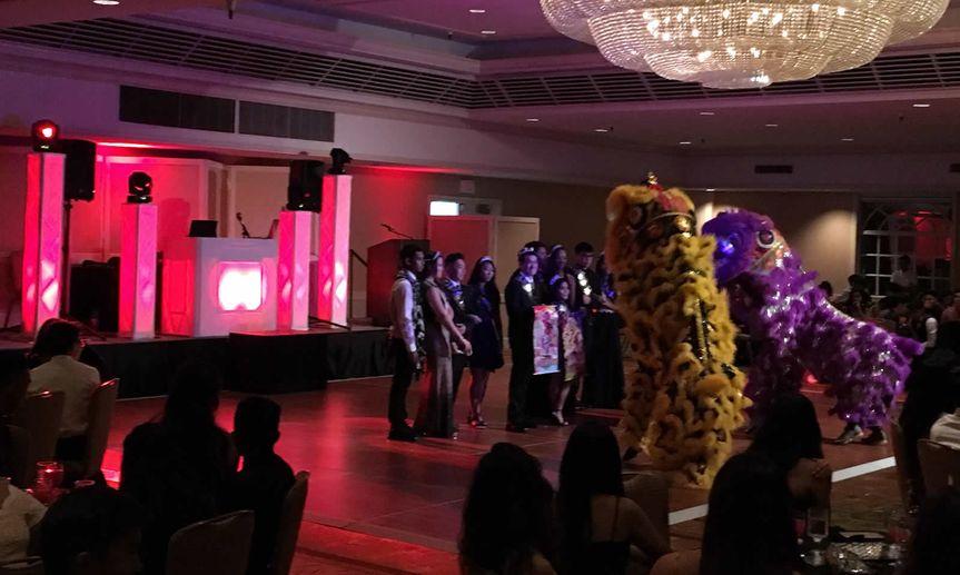 Lion dance!