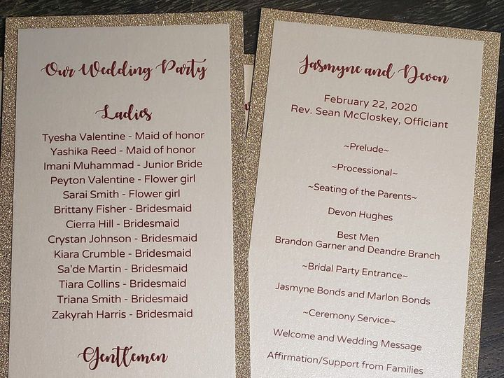 Tmx 86719558 2797709470306168 2698029396568047616 O 51 710718 158204162435441 Calumet City, Illinois wedding invitation
