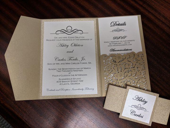 Tmx Img 20181009 121506 2 51 710718 Calumet City, Illinois wedding invitation