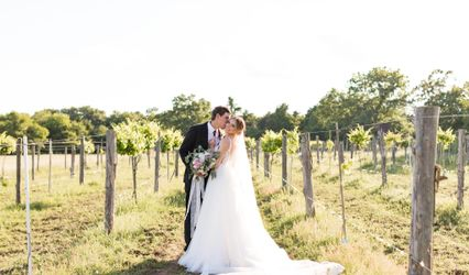 The wedding of Whitley and Jason