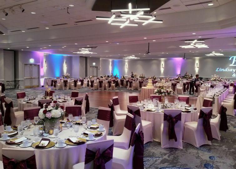 Ballroom Wedding Reception
