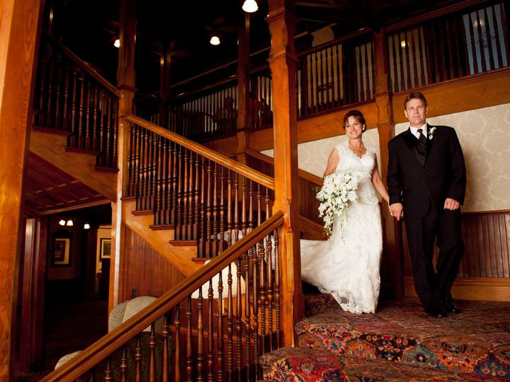 Tmx 1397245685129 Bride And Groom On Central Stairs   Custom By Nico New Paltz, New York wedding venue