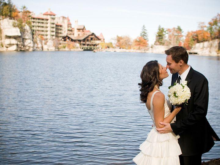 Tmx 1397245708532 Bride And Groom On Lake Mohonk   Daniel Krieger Ph New Paltz, New York wedding venue