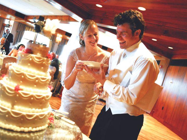 Tmx 1397245755785 Bride And Groom With Wedding Cake   J. Ferrara Pho New Paltz, New York wedding venue
