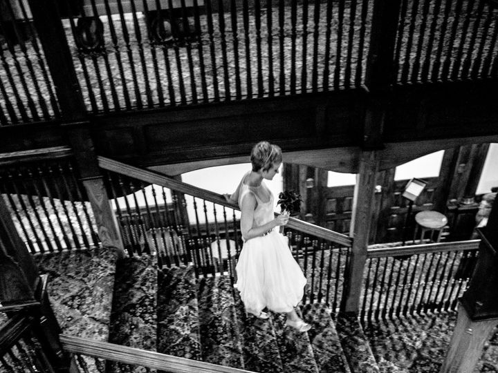 Tmx 1397245797747 Bride On Central Stairs   Dennis Pike Photograph New Paltz, New York wedding venue