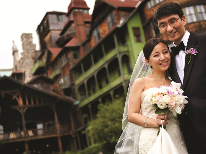 Tmx 1397246529910 Bride And Groom At Mohonk Mountain House   J. Ferr New Paltz, New York wedding venue