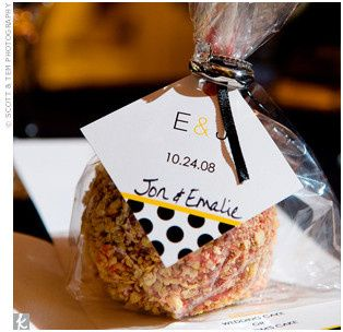 Tmx 1426780091897 Yellow Polka Dot Tag Denver wedding favor