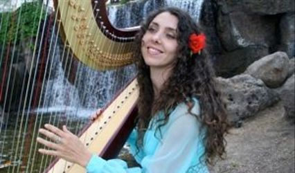 Harpist Tatyana