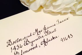 A Fine Letter Calligraphy