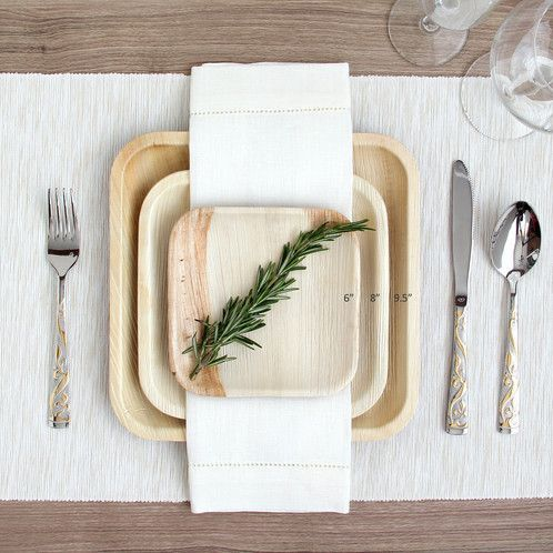 Tmx Palm Leaf Plates2 51 754718 Chicago, IL wedding catering
