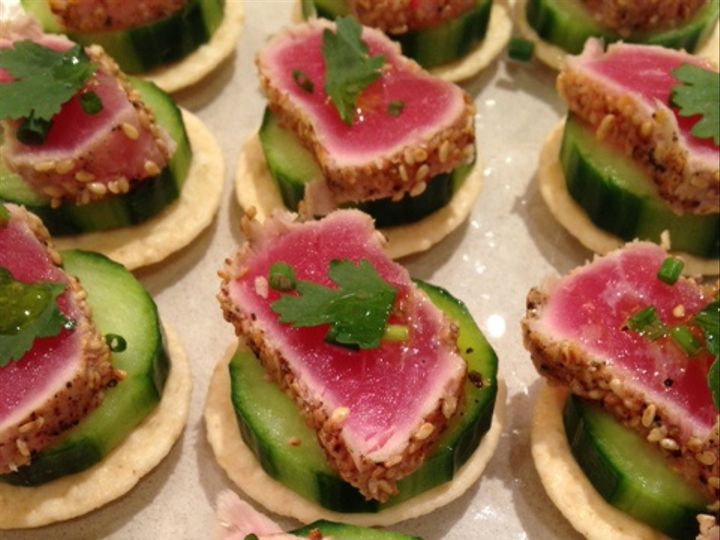 Tmx Seared Tuna Hors D Oeuvres Crave Cuisine Chicago Catering Lori Terry 51 754718 Chicago, IL wedding catering