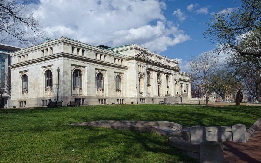 Exterior view of the Carnegie Library at Mt. Vernon Square - Events DC property