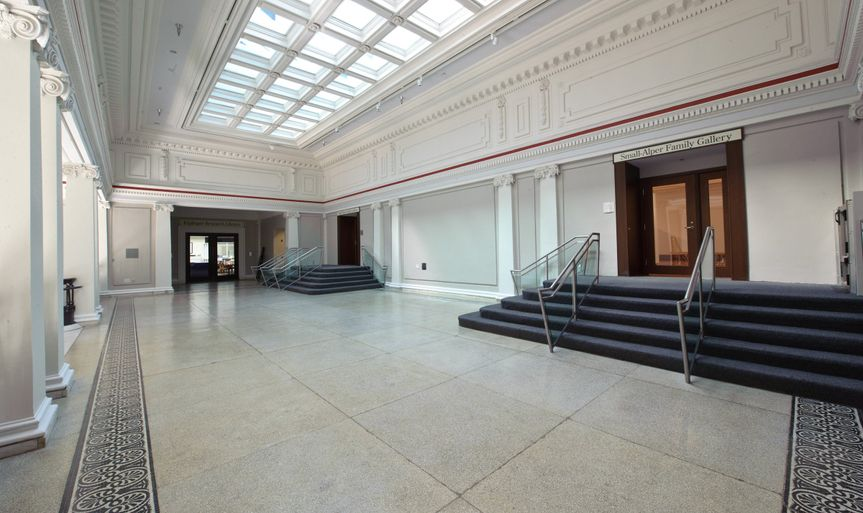 Indoor event space of Carnegie Library at Mt. Vernon Square - Events DC property