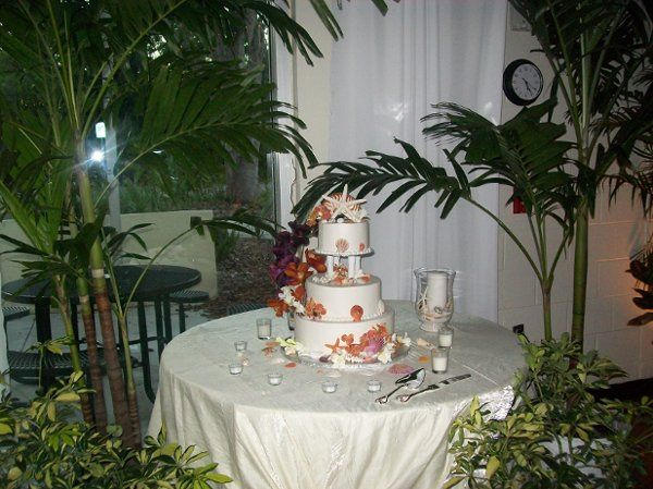 Wedding Reception at the Safety Harbor Community Center.
