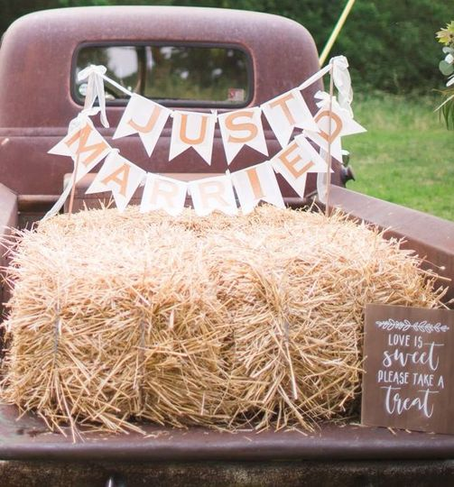Haystack on the trunk