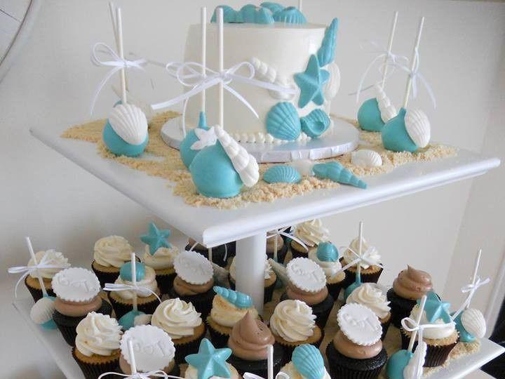 Tmx 1455129849634 Beach 3 Ocean City wedding cake