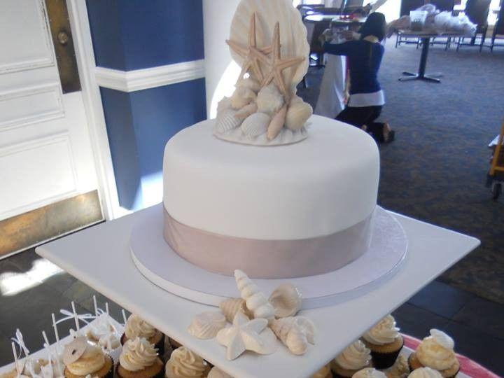 Tmx 1455129950783 Beach 2 Ocean City wedding cake