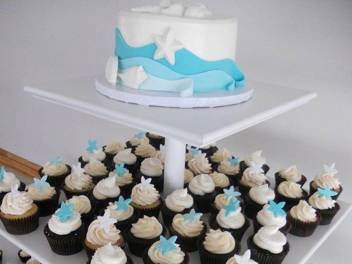 Tmx 1455130255985 Dscn5970 Ocean City wedding cake