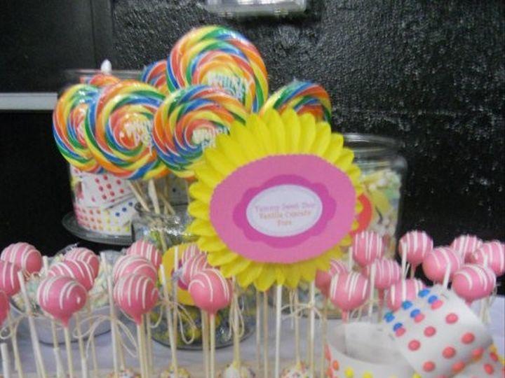 Tmx 1455130555620 Candybar 3 Ocean City wedding cake