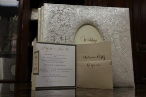 Trifold invitation