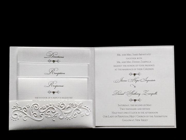 Tmx 1490418355238 Img20150109164543 Englishtown wedding invitation