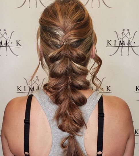 Stylish braiding