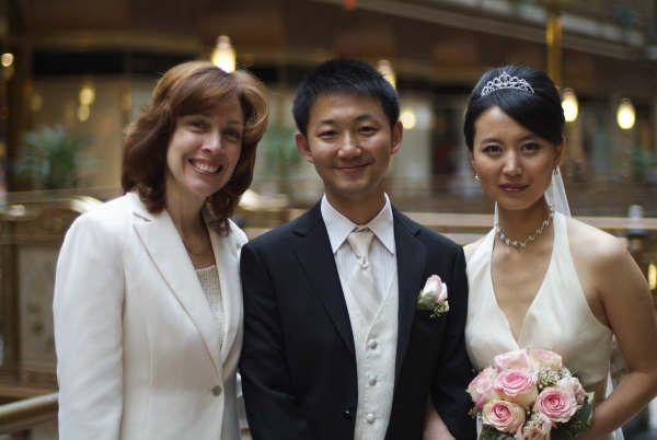 Tmx 1291991419488 WeddingPicLiShanXIn Northfield wedding officiant