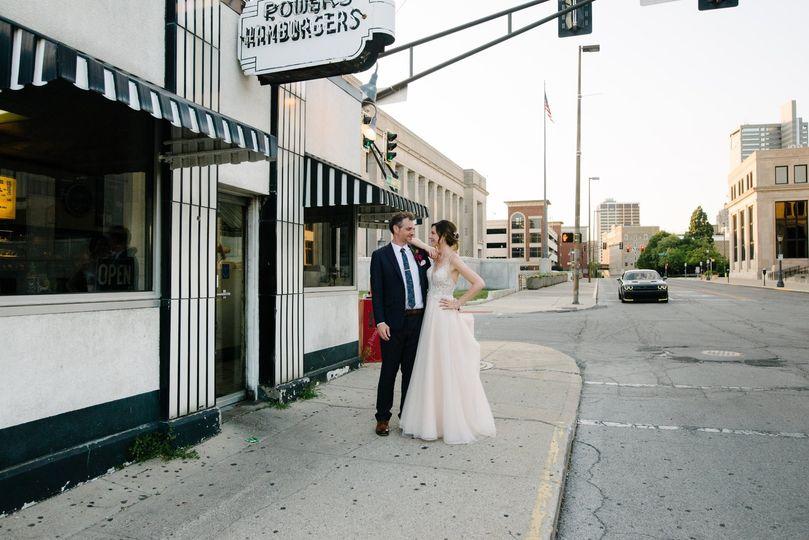 Newlyweds in Lafayette