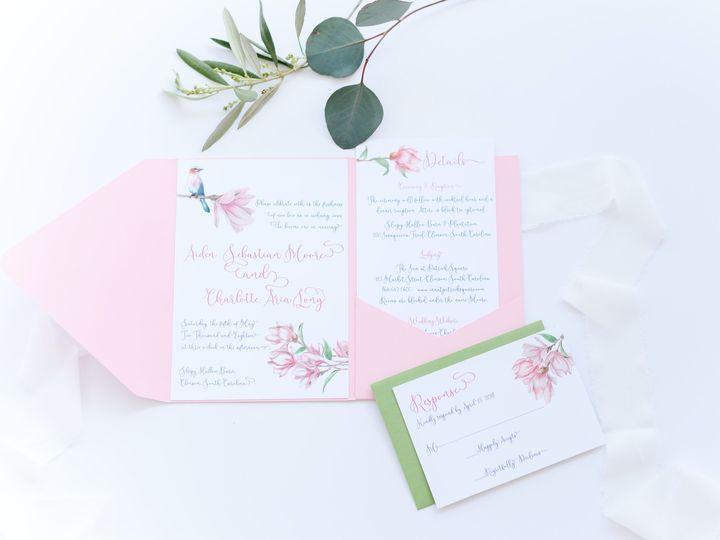 Tmx Atwater 1 51 1013818 158308423673769 Charleston, SC wedding invitation