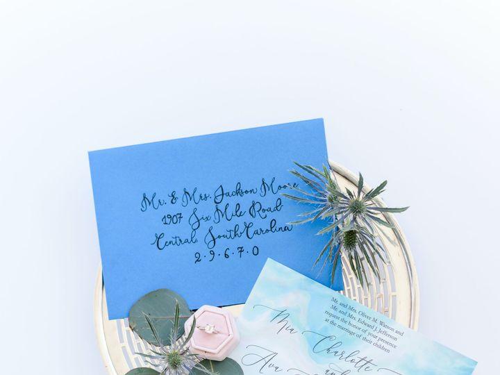 Tmx Atwaterflatlays 12 51 1013818 158308424010673 Charleston, SC wedding invitation