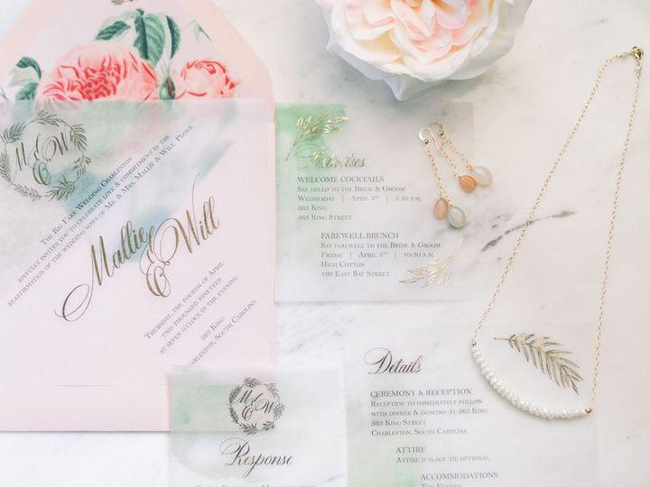 Tmx Emilysolbergphotography Bfwfullgallery1 51 1013818 1569892940 Charleston, SC wedding invitation