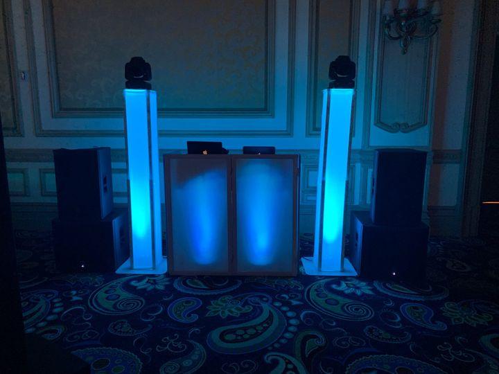 Uplight DJ Booth