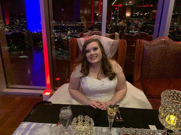 Our bride Ashley